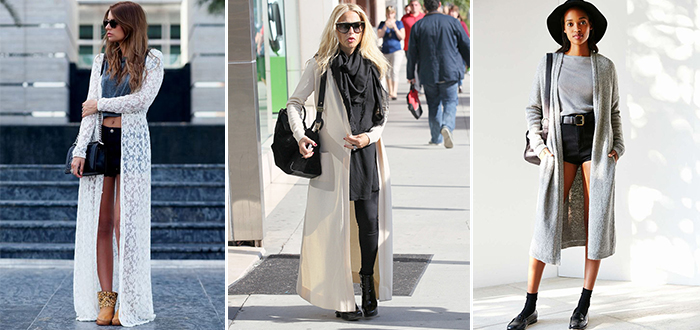 Trend gespot: Maxi cardigan