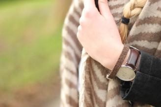 Blogger battle: bruine zebra sjaal