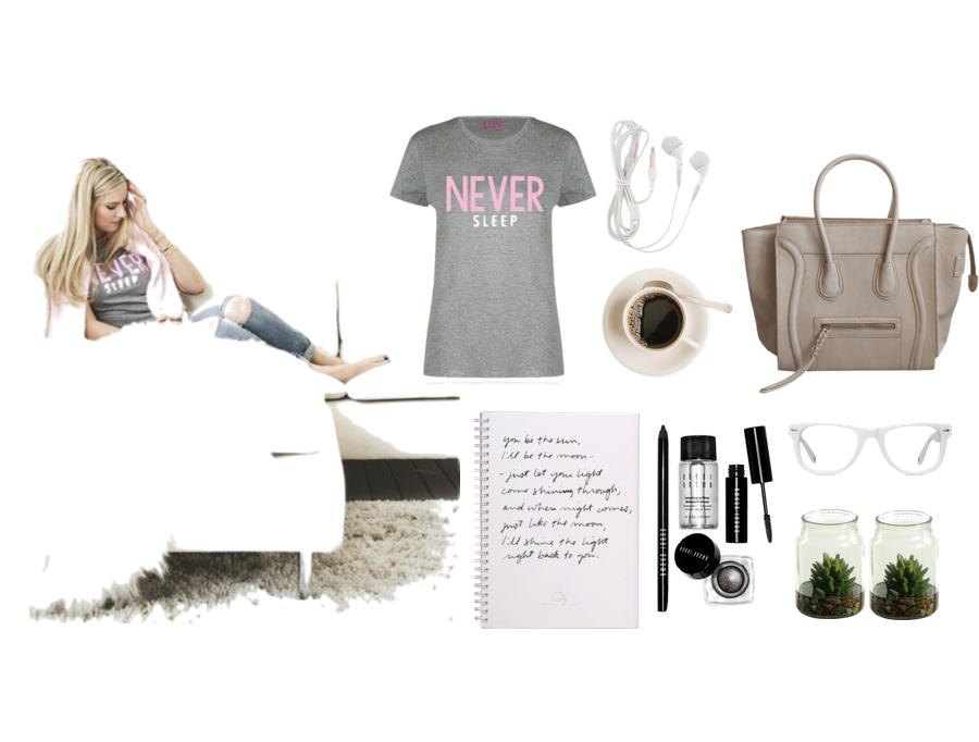 never sleep shirt