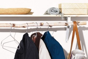 DIY: Hangend kledingrek