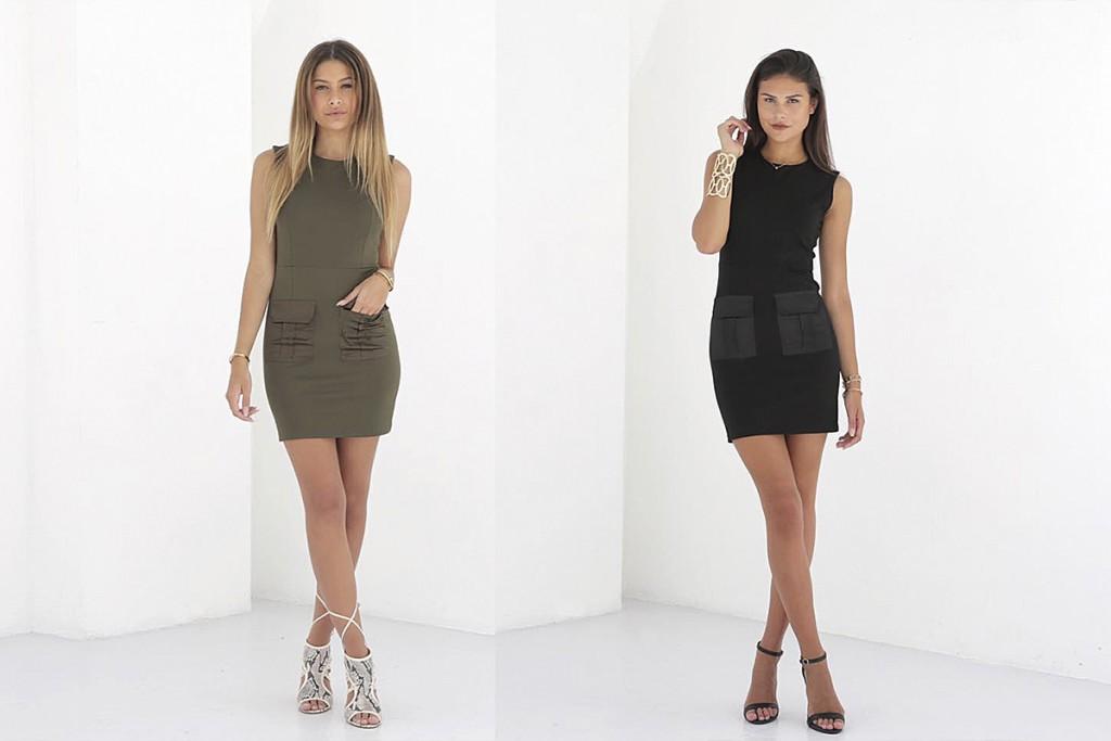 la sisters pocket dress