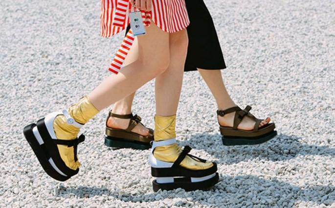 flatform sandalen