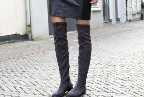 Hoe draag je overknee boots?