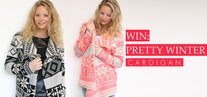 WIN: Pretty Winter Cardigan