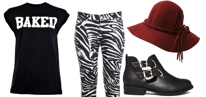 outfit zebra