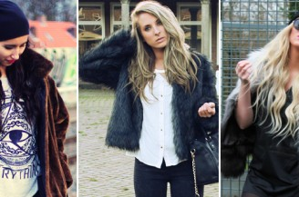 Blogger Battle: A Touch of Faux Fur