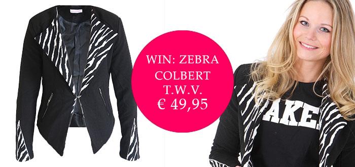 Win: Zebra Colbert t.w.v. € 49,95