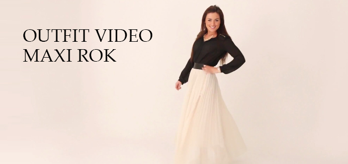 OUTFIT VIDEO MAXI ROK