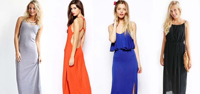 8 x Musthave Maxi Dresses