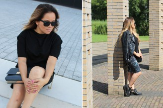 About the blogger: fashion blogger Thoya