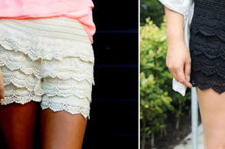 Blogger Battle: Lace Shorts