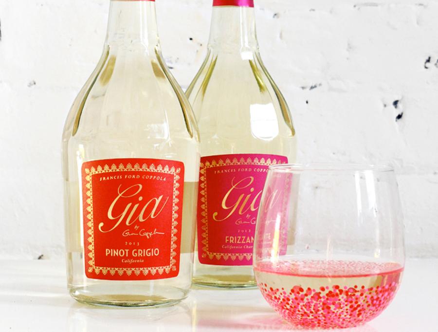 diy wijnglazen versieren