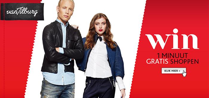 WIN: één minuut gratis shoppen bij Van Tilburg Online!
