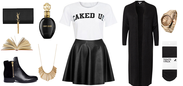 Outfit of the Day: Caked up top