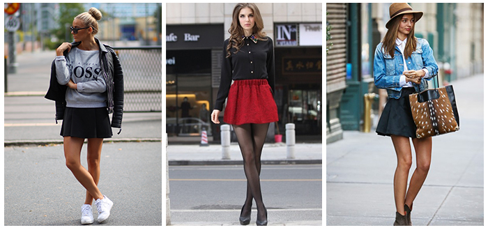 Monday Moodboard: The Skater Skirt
