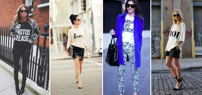 Trend gespot: statement shirts & sweaters