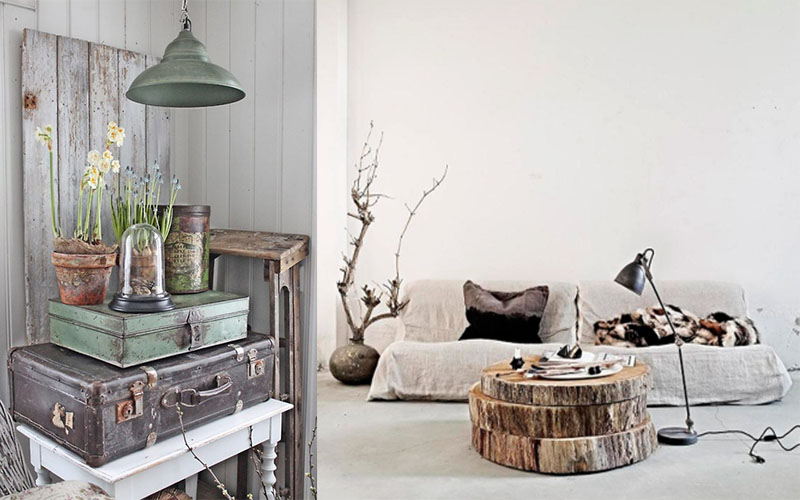 Landelijk interieur follow fashion - Interieur decoratie modern hout ...