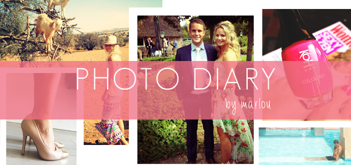 Photo Diary Marlou: Holiday!