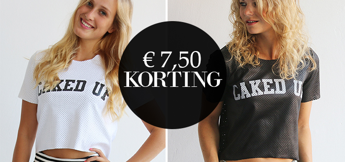 WEEK DEAL: €7,50 korting op de LA Sisters Caked Up Top