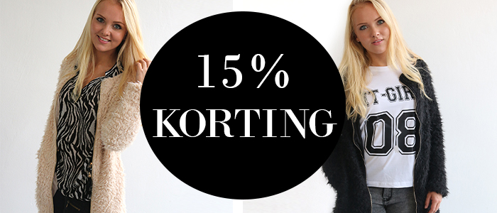 WEEK DEAL: Fluffy vesten met € 5,- korting!