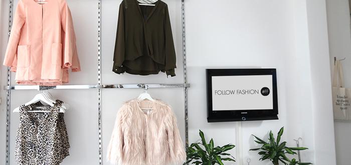 showroom follow fashion
