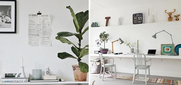 Inspiratiepost: Witte muur decoratie