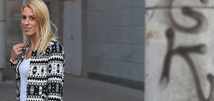Outfit Ylze: Aztec Cardigan