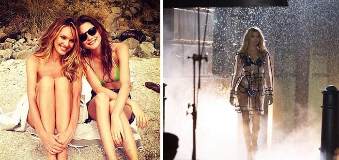 8 X Sexy Instagram foto's van Victoria's Secret