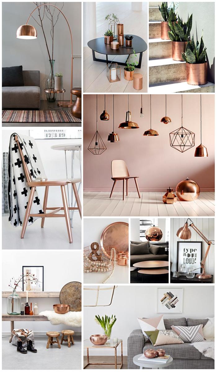 Interieur trend: Koperen accessoires - Follow Fashion