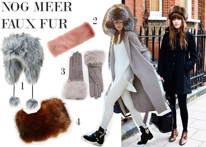 herfsttrend faux fur