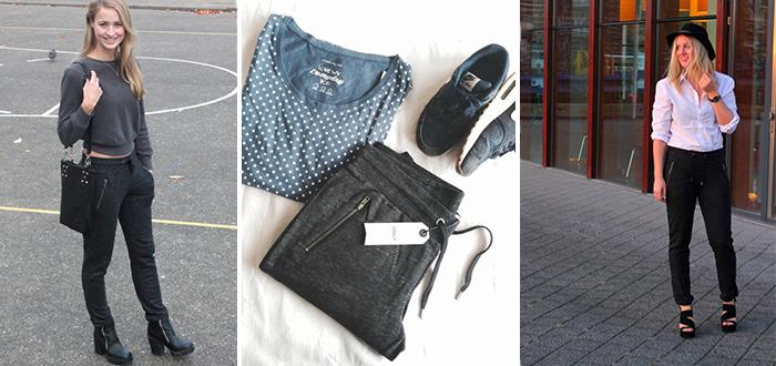 Blogger Battle: Jogging pants