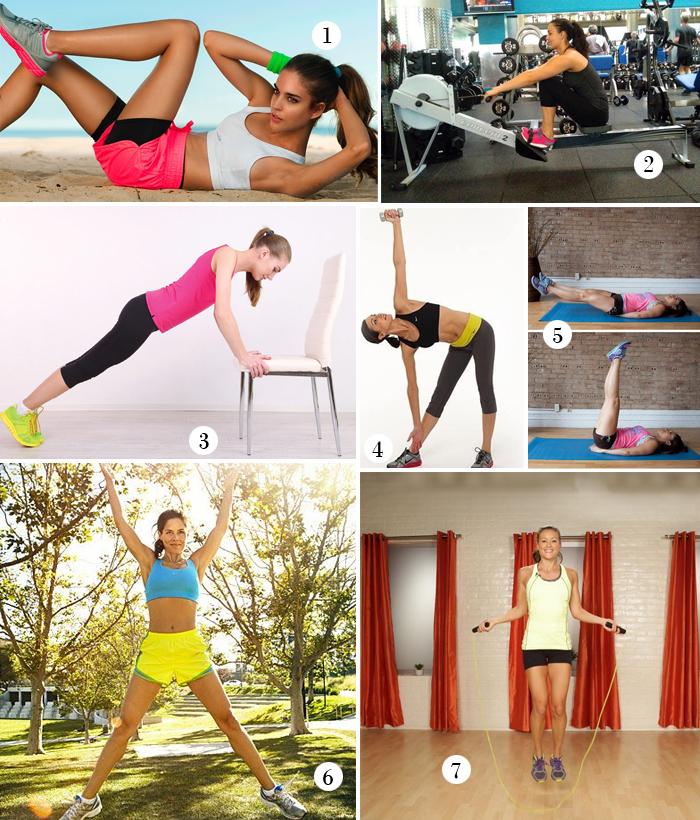 7 X Workout Heupvet Verliezen Follow Fashion
