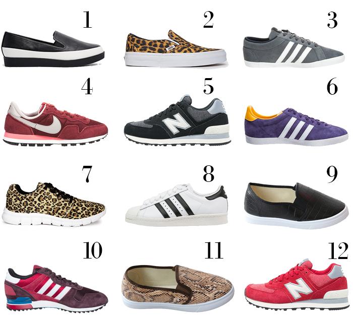 schoenen adidas en nike