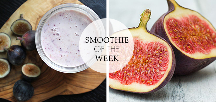 Smoothie of the Week: Yoghurt smoothie met vijgen en honing