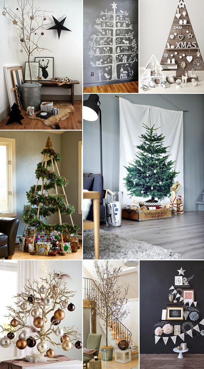 Diy: alternatieve kerstboom ideeën   follow fashion