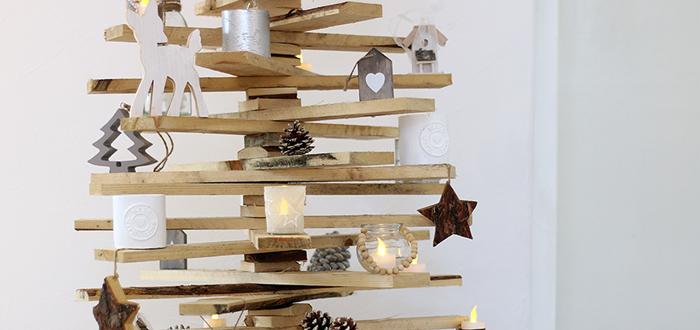 Friday Favourite: onze houten kerstboom