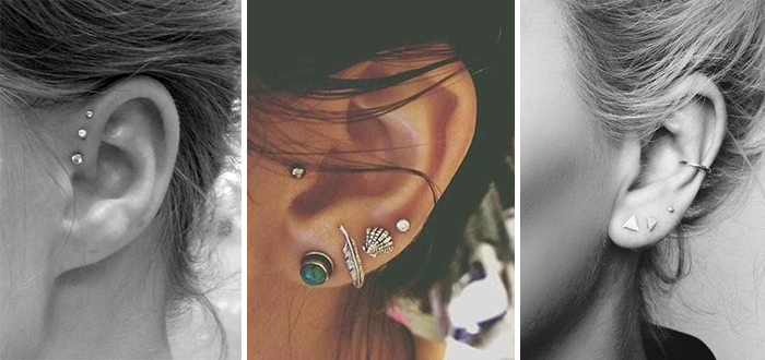How to wear oorpiercings