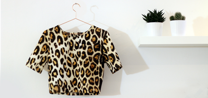Week Deal: LA Sisters Leopard top met korting