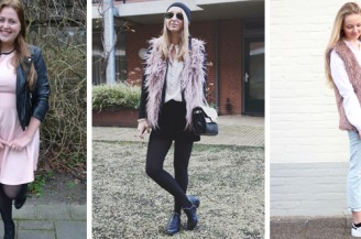 Blogger Battle: Winter pastel outfit