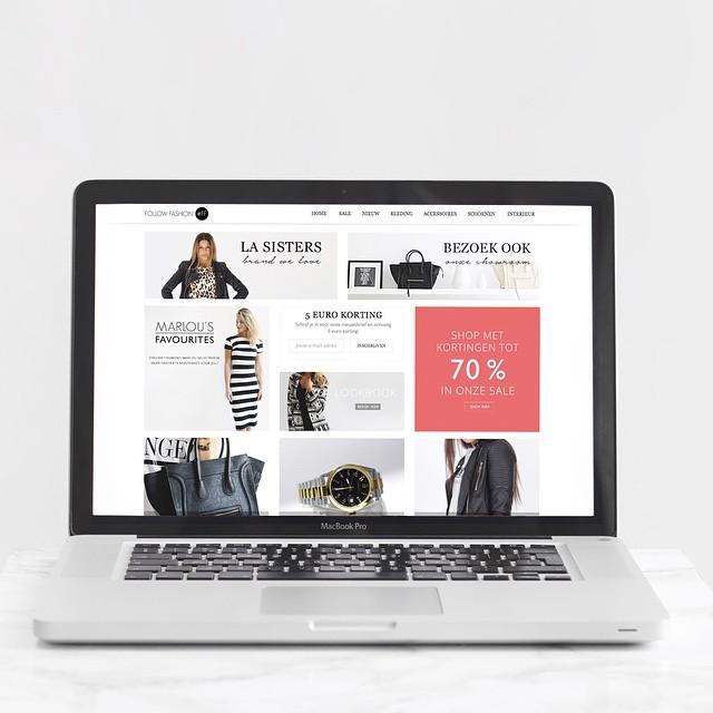 Yesss onze nieuwe webshop is online! Schrijf je in op de nieuwsbrief en ontvang € 5 korting! #followfashion #webshop #macbook #shopping #follow #fashion