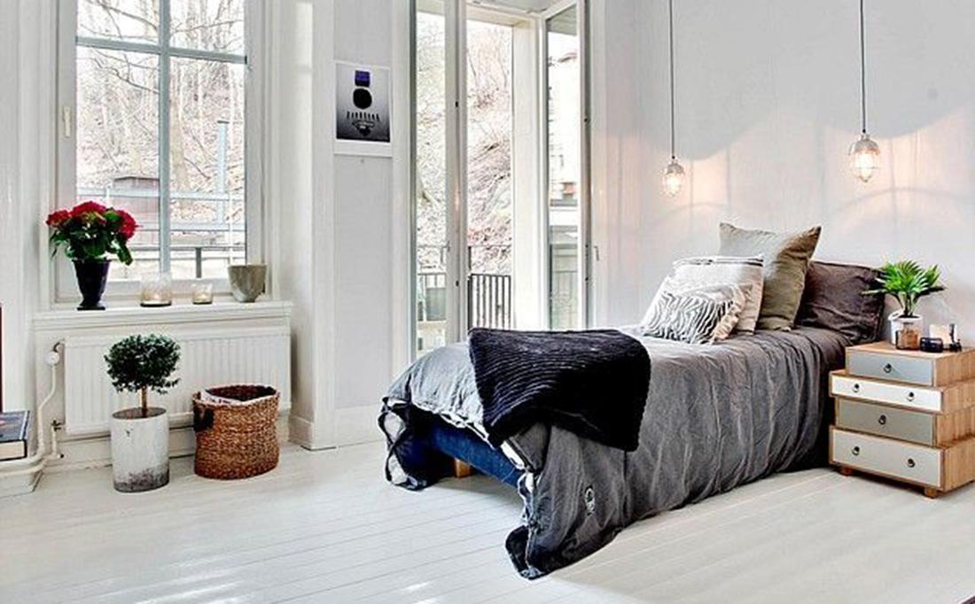 10 X interieur inspiratie witte vloeren