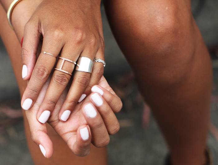 witte-nagellak