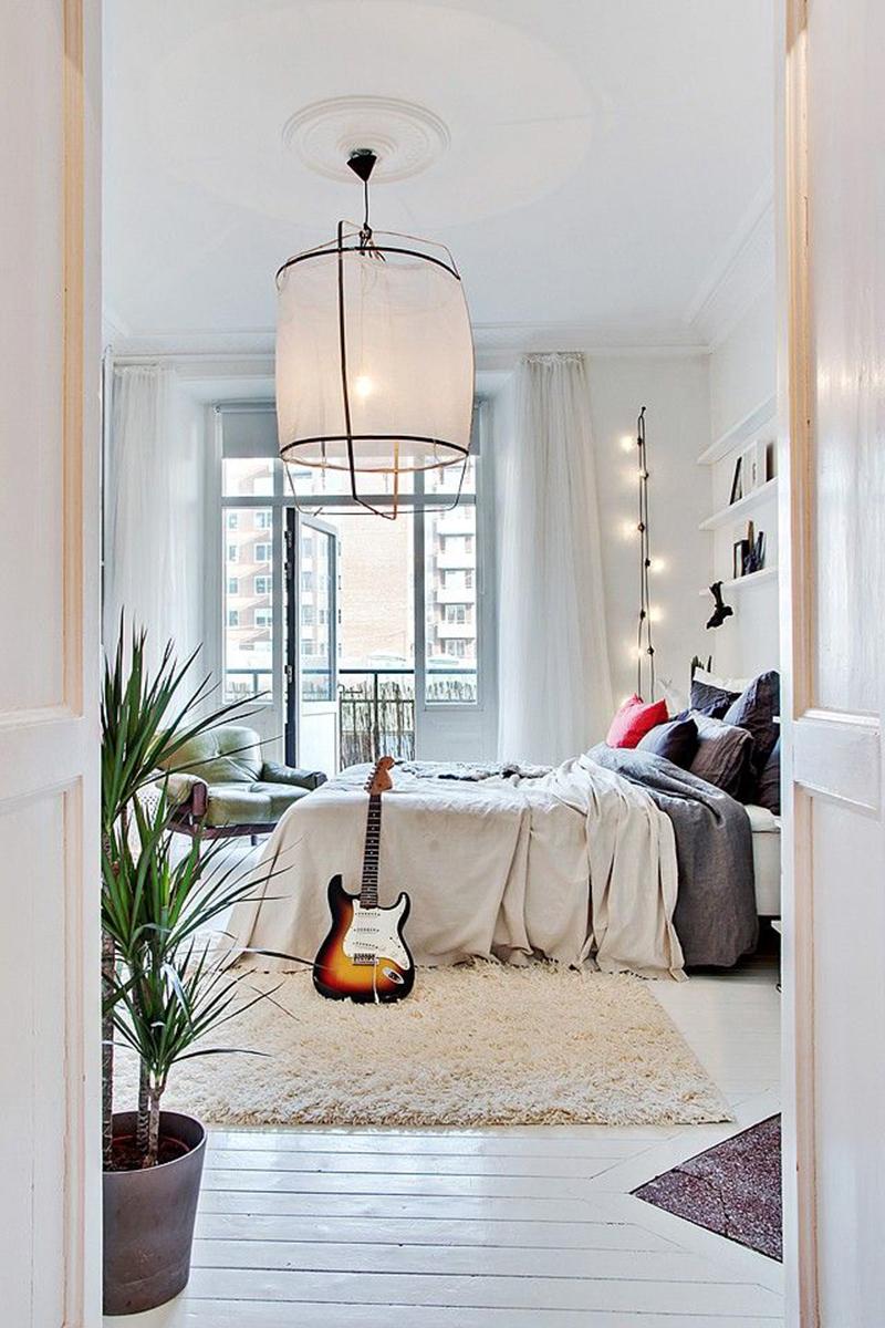X interieur inspiratie witte vloeren