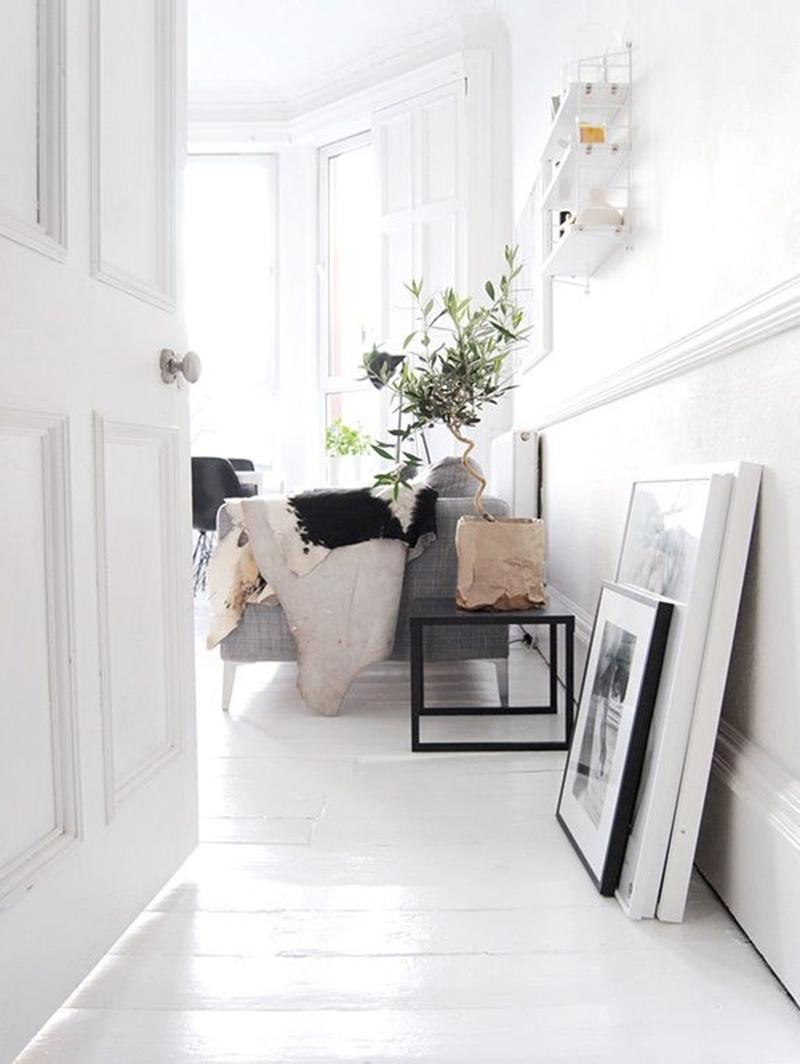 10 x interieur inspiratie witte vloeren - Witte muur kamer ...