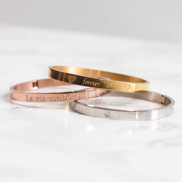 Bestseller bracelets back in stock! Shop.followfashion.nl #followfashion #fashion #bracelet #jewelery #musthave #instafashion