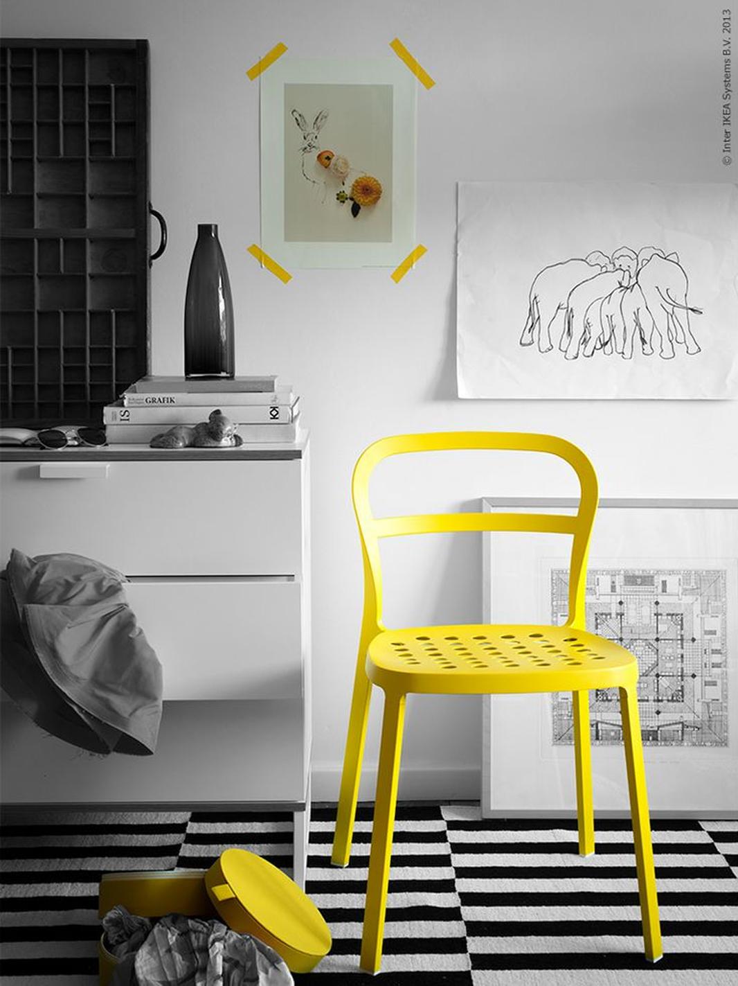 Trendkleur: geel in je interieur   follow fashion