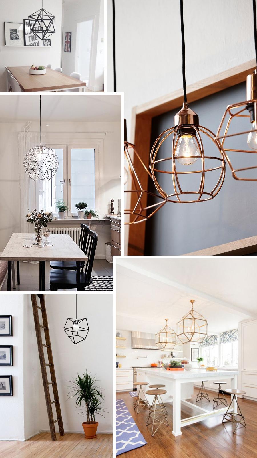 geometrische lampen