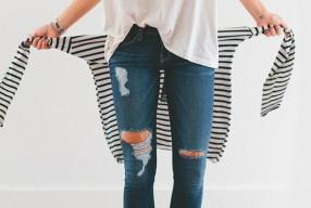 Zo voorkom je het uitscheuren van je ripped jeans
