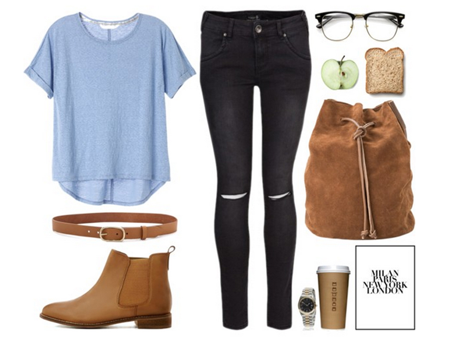 Outfit Inspiratie Just Another School Day - Follow Fashion