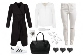 Outfit inspiratie: Black and white